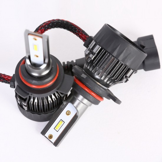 AH Auto LED Headlight Bulbs Conversion Kit 9012,CREE Chips,45W,6000K Extremely Bright All-in-One Conversion Kit