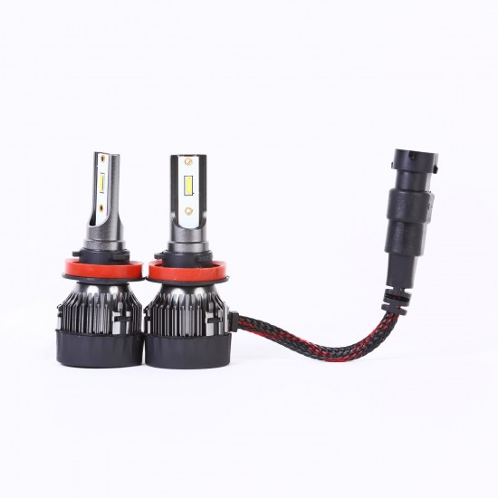 AH Auto LED Headlight Bulbs Conversion Kit H11,CREE Chips,45W,6000K Extremely Bright All-in-One Conversion Kit
