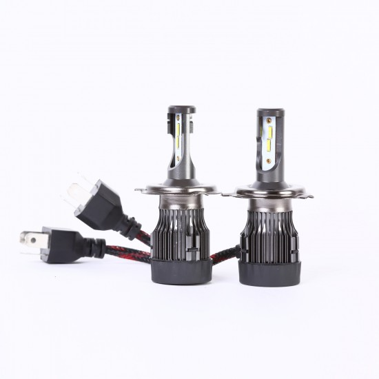 AH Auto LED Headlight Bulbs Conversion Kit H4,CREE Chips,45W,6000K Extremely Bright All-in-One Conversion Kit
